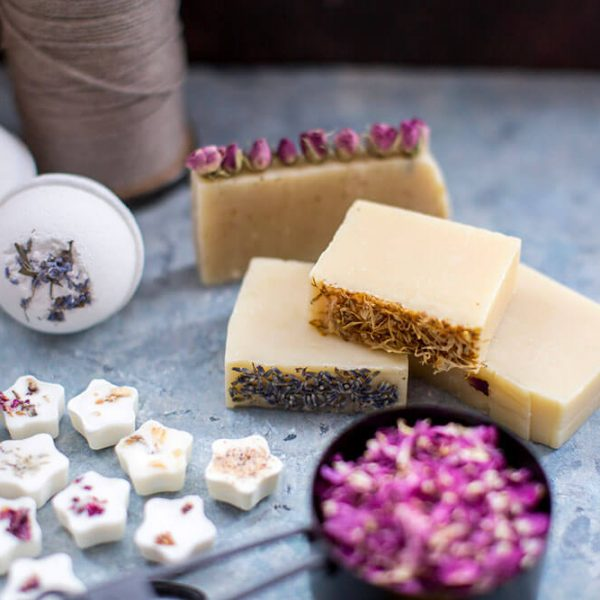 Marigold-Petals-in-bath-bombs-and-soap